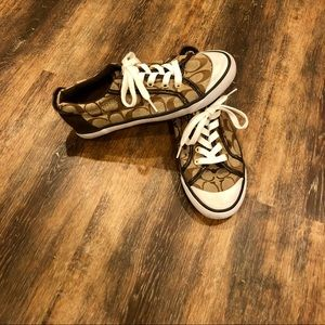 Coach Brown Sneakers Size 7